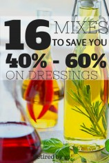16 Mixes To Save You 40%-60% on Spice Mixes