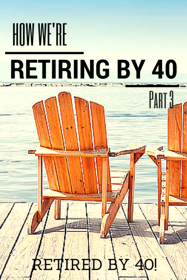 How To Retire by 40! - Part 3 - Living on Fifty