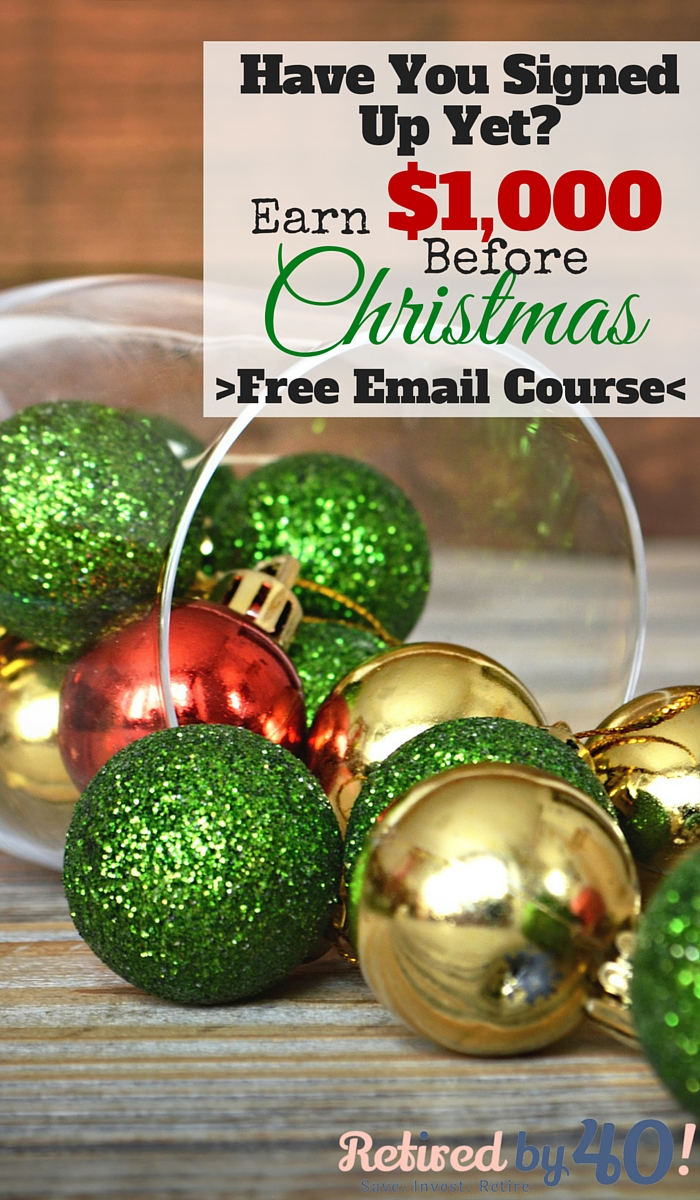 Save Money For Christmas - Free Email Course! - Living on Fifty