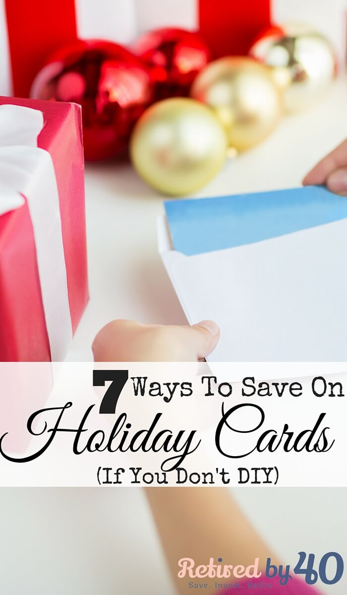 7 Ways To Save On Holiday Cards (If You Don\'t DIY) - Living on Fifty