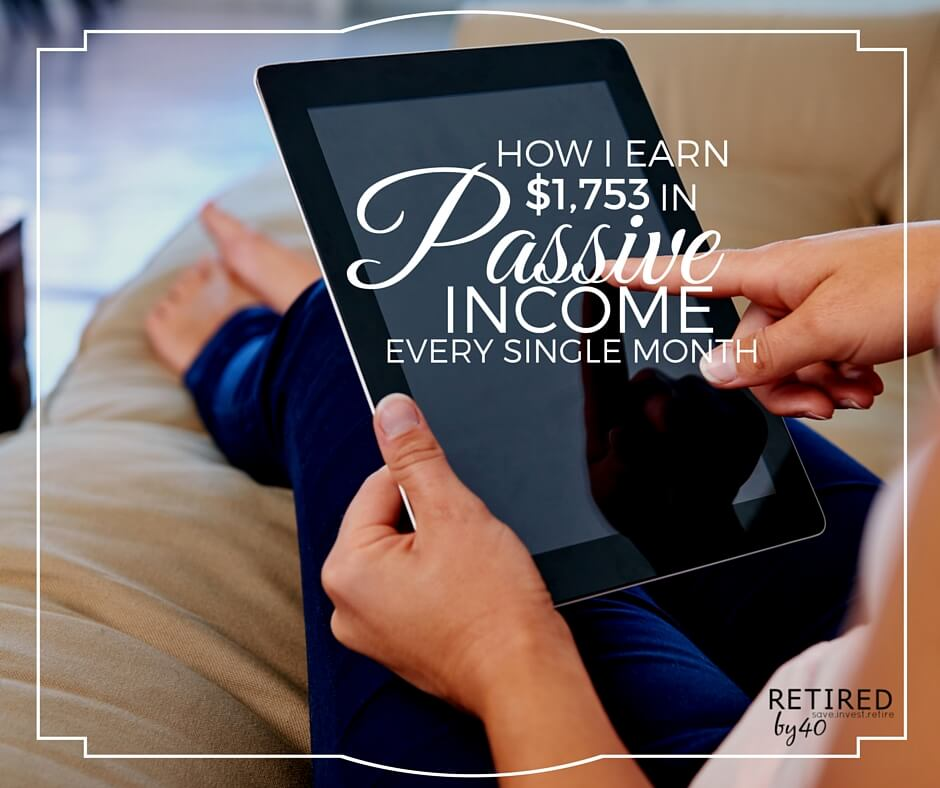 Do you think that you have to actually work online to make extra money? Well, I'm here to tell you that I earn $1,753 each month in passive income - online.