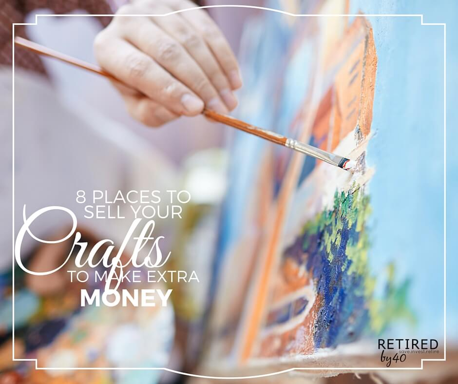 8 places to sell crafts and make extra money for Places to sell crafts